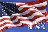 American Flag 2.5x4 Ft - Heavy Duty US Flag with Embroidered Stars, Sewn Stripes and Brass Grommets,...