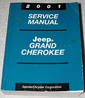 2001 Jeep Grand Cherokee Factory Service Manual (Complete Volume)