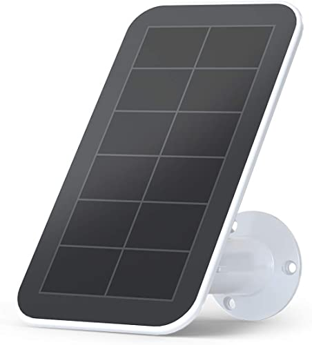 Arlo Accessory - Solar Panel Charger   Weather Resistant, 8 ft Magnetic Power Cable, Adjustable Mount   Compatible w...