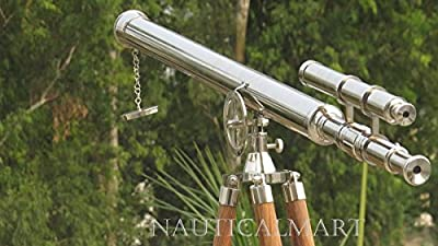 NAUTICALMART NM010888 Floor Standing Chrome Finish Griffith Astro Telescope 65""