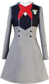 Darling in The FranXX Code 015 Ichigo Dress Cosplay Costume School Uniform Halloween Full Set