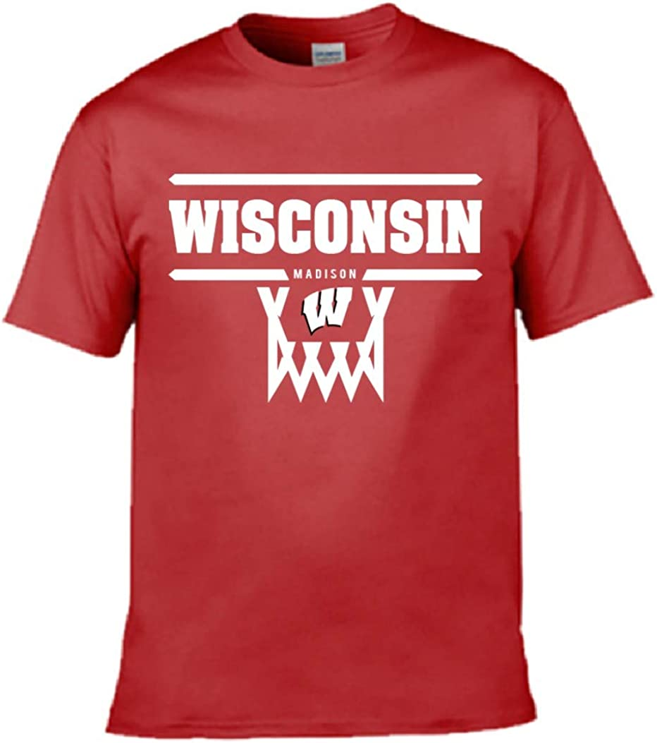 Pro Shop Wisconsin Badgers Basketball Youth Size T-Shirt