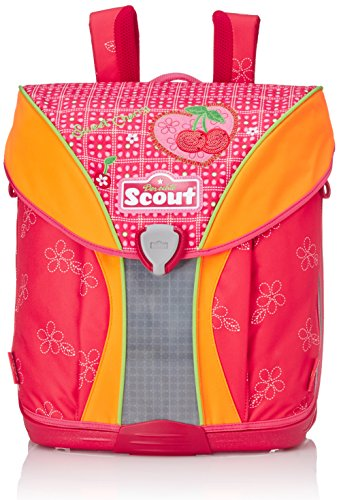 Scout 71400797200 Nano Schulranzen-Set, Rot