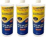 SmartPool SunHeater Solar Blanket Liquid HeatShield SHS32 Solar Blanket in a Bottle (Pack of 3)