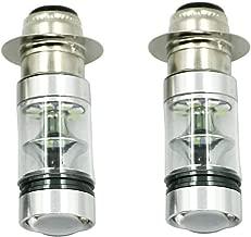 2x 100W Xenon White High Power H6 LED Headlights Bulbs For Yamaha ATV YFM 125 250 350 400 450 600 660 700 Big Bear Wolverine Grizzly Raptor