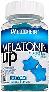 comprar comparacion JOE WEIDER VICTORY Melatonine Up, 60 gummies, Sabor Blueberry, 1 mg de melatonina por gominola, Sin gluten y sin azúcar