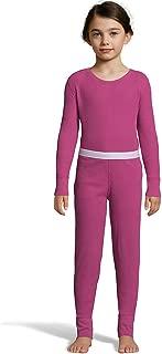 Hanes Girl's Waffle Knit Thermal Underwear Set