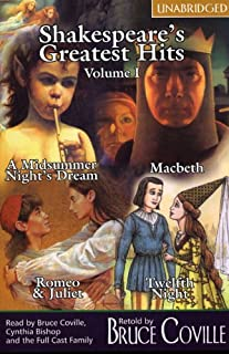 Shakespeare's Greatest Hits Retold by Bruce Coville , Volume I