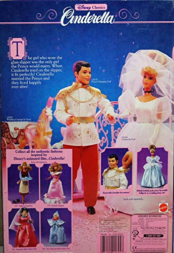 Cinderella Prince Charming Disney Classic with Shoe and Locket (1991)