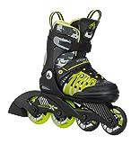 K2 Inline Skates SK8 HERO X PRO Für Jungen Mit K2 Softboot, Black - Giftgreen, 3050208