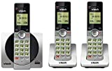 VTech DECT 6.0 Three Handset Cordless Phone with CID, Backlit Keypads and Screens