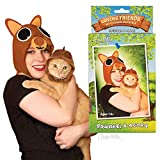Archie McPhee Loving Friends Kitty Cuddle Costumes, Squirrel & Acorn