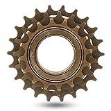Keenso Rueda Libre de Bicicleta de 3 velocidades, 16/19 / 22T Metal Volante de 3 velocidades Bicicleta de montaña Rueda Libre Accesorio de piñones Traseros para Bicicleta de Carretera de montaña