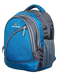 PETER INDIA 35 L Polyester Waterproof School Backpack with 3 Compartments