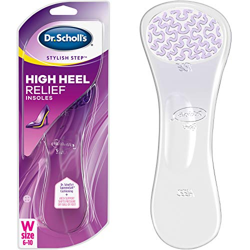 Designed specifically for women who experience ball of foot pain when wearing high heels Ultra-soft gel arch shifts pressure off ball of foot and targeted cushioning relieves pressure on ball of foot throughout the day Discreet comfort with clear gel...