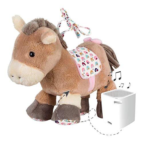 Sterntaler 6352003 Baby-Chilling-Box Pony Pauline, Digitale Spieluhr, Inkl. Bluetooth-Lautsprecher und USB-Kabel, Alter: Babys ab der Geburt, 19 x 16 x 8 cm