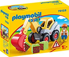 Playmobil 70125 1.2.3 Schaufelbagger, ab