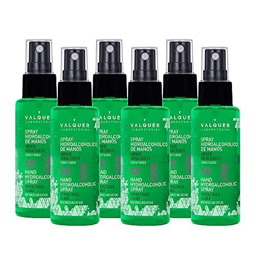 Valquer Profesional Spray Higienizante De Manos Triple Acción - 600ml