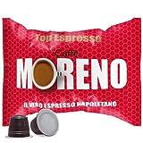 CAFFE' MORENO 300 CIALDE CAPSULE MISCELA TOP ESPRESSO COMPATIBILITA' NESPRESSO