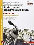 storia e autori della letteratura greca. per le scuole superiori. con espansione online: 1