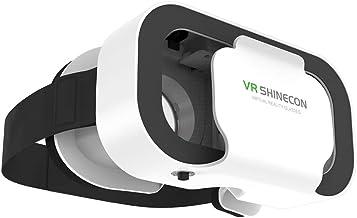 Kokiya 3D Virtual Reality VR Glasses VR Shinecon 3D Movie & Games Portable Glasses for 4.7''-6.53'' Mobile Phone