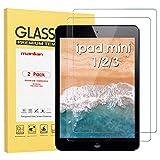 Manlian [2 Stück] Panzerglas Schutzfolie kompatibel mit Apple iPad mini 1/2/3. Gehärtetem Glas Bildschirmschutzfolie.