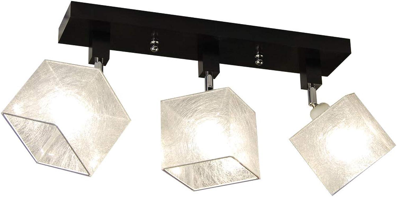 Deckenlampe - HausLeuchten LLS315DPR, Deckenleuchte, Leuchte, Lampe, 3-flammig, Massivholz