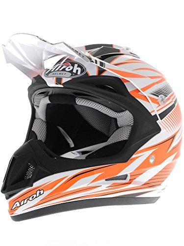 Airoh Motorrad Helm Jumper, Orange (Sting Orange), 58 cm