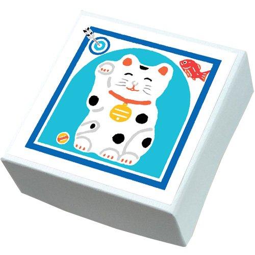 【鈴廣かまぼこ】こ・こ・ろ 青箱 招き猫