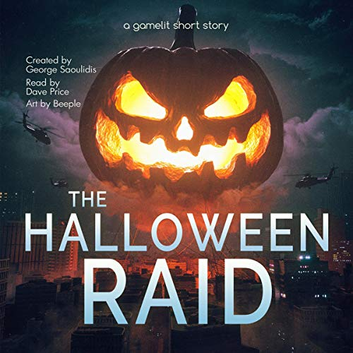 The Halloween Raid audiobook cover art