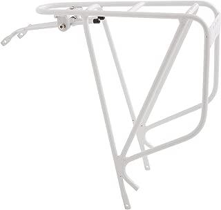 Planet Bike K.O.K.O Bike Rack, White, Bicycle Touring Carrier, Cargo Rack Fits 26