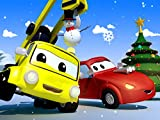 【Christmas 】Show And Tell! / Decorate a Christmas Tree / The Baby Cars are Talking to a Ghost/ Road Rescue!