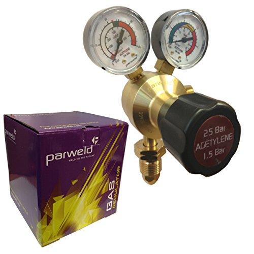 Regulador de acetileno para soldador monofásico Parweld - r