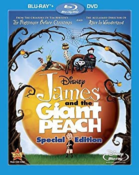 James and the Giant Peach Special Edition on Blu-ray + DVD
