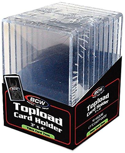 BCW Supplies Kartenhalter, 10 Stück