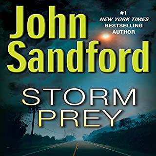 Storm Prey audiobook cover art