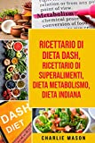 Ricettario di dieta Dash, Ricettario di superalimenti, Dieta Metabolismo, Dieta Indiana