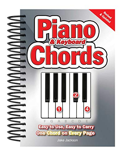 Jackson, J: Piano & Keyboard Chords: Easy-To-Use, Easy-To-Carry, One Chord on Every Page