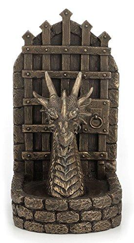 7,75Pulgadas Soporte para Libros Fantasy Dragon Guardian Pantalla Coleccionable de Regalo