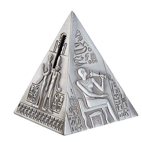 ZDAMN Kindersparschwein Altes Ägypten Retro Pyramide Sparschwein Münze Lagerung Spardose Dekoration Sparschwein Kreative Sparschwein Münze Idee (Farbe : As Shown, Größe : 10x8.5x8.5CM)