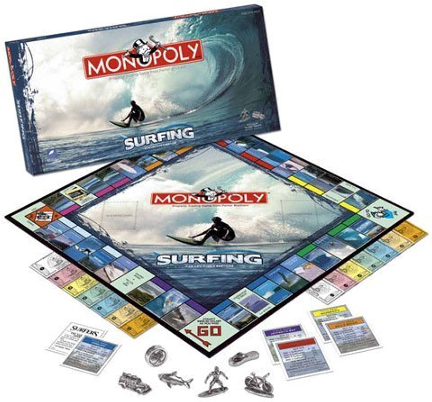 USAopoly Surfing 2008 Monopoly by USAopoly