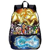 KKASD Zaino da viaggio per la moda con stampa 3D Anime Dragon Ball Zaino per il tempo libero della scuola della gioventù dello studente 45x30x15cm Borsa per la scuola dei bambini