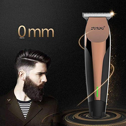 Hair Trimmer Professional Hair Trimmer Electric Hair Trimmer 0 1 Mm tondeuse Baardtrimmer Haircut Clipper oplaadbare ZHW345