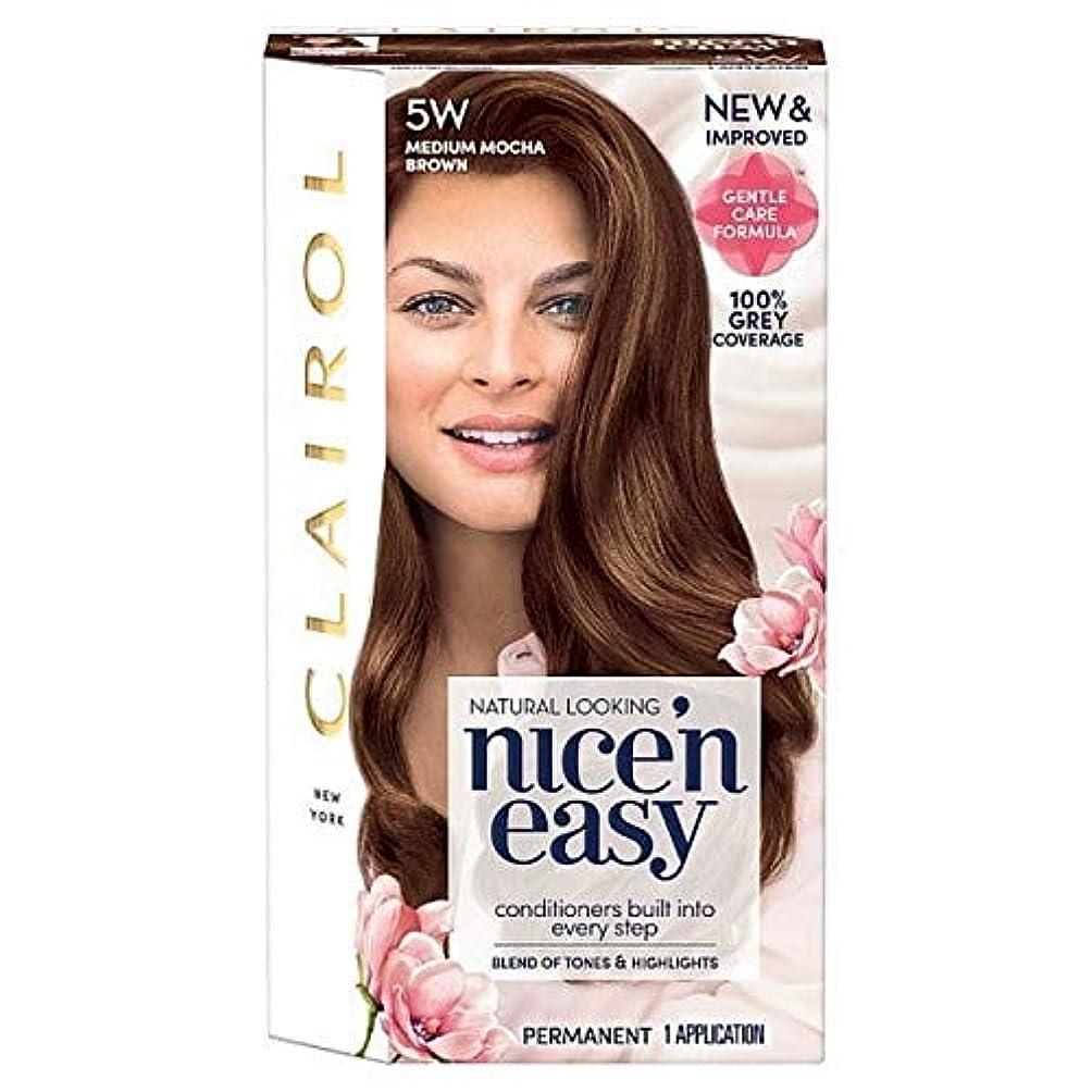 前方へマイク拳[Nice'n Easy] 簡単な5ワットメディアモカブラウンNice'N - Nice'n Easy 5W Medium Mocha Brown [並行輸入品]