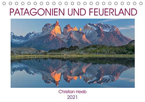Patagonien und Feuerland (Tischkalender 2021 DIN A5 quer)