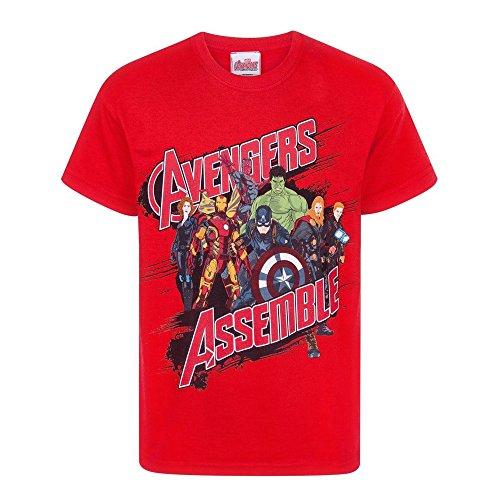 Official Niño Avengers Age of Ultron - Camiseta (9-10 Años)