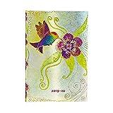 Paperblanks - Agenda 18 mesi 2025 – 2020, con colibrì, settimanale (orizzontale) Mini (95 × 140 mm)