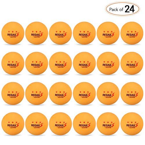 Lixada Premium Tischtennisbälle 24 Stücke 3-Sterne 40mm Tischtennisbälle Tischtennisbälle Amateur Weiterbildung Übungsbälle