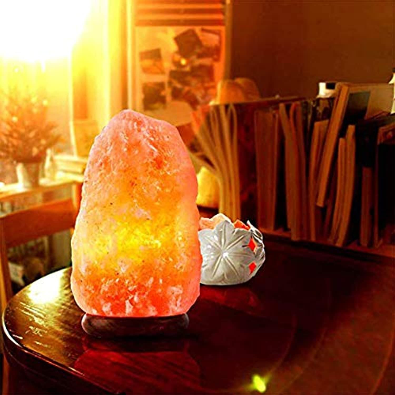 ZDGM Salzkristall-Lampe, Salzstein, Salzlampe, Kristall ...