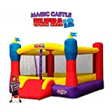 Blast Zone Magic Castle Ultra12 - Inflatable Bouncer with Blower - Premium Quality - Huge - Holds 6 Kids - Fast Setup